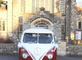 Classic VW Campervan  for weddings in Maidenhead
